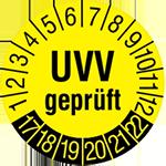 UVV-Plakette